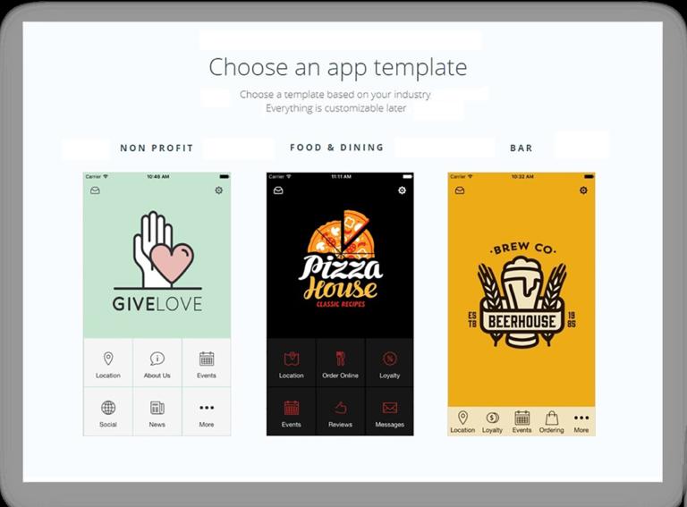 progressive web app template